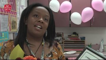 12 News A+ Teacher: Angelica Tyson, Byron A. Barry School