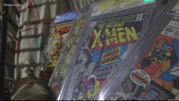 Mesa man auctioning the world's top rated X-Men comic book collection to pay for cancer treatments