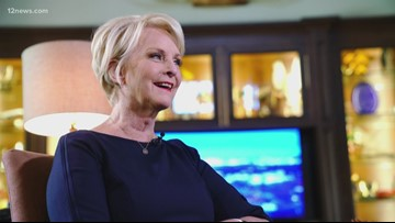 Cindy McCain joins the 12 News Cactus Coalition, advocates civility