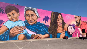 Sí Se Puede mural unveiled in celebration of César Chávez Day