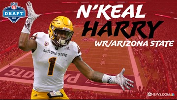 New England Patriots draft Arizona State WR N'Keal Harry in first round
