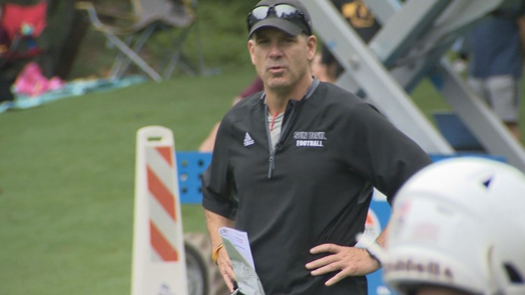 ASU's offensive coordinator Rob Likens