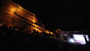 Who's playing Colorado's Red Rocks in 2019?