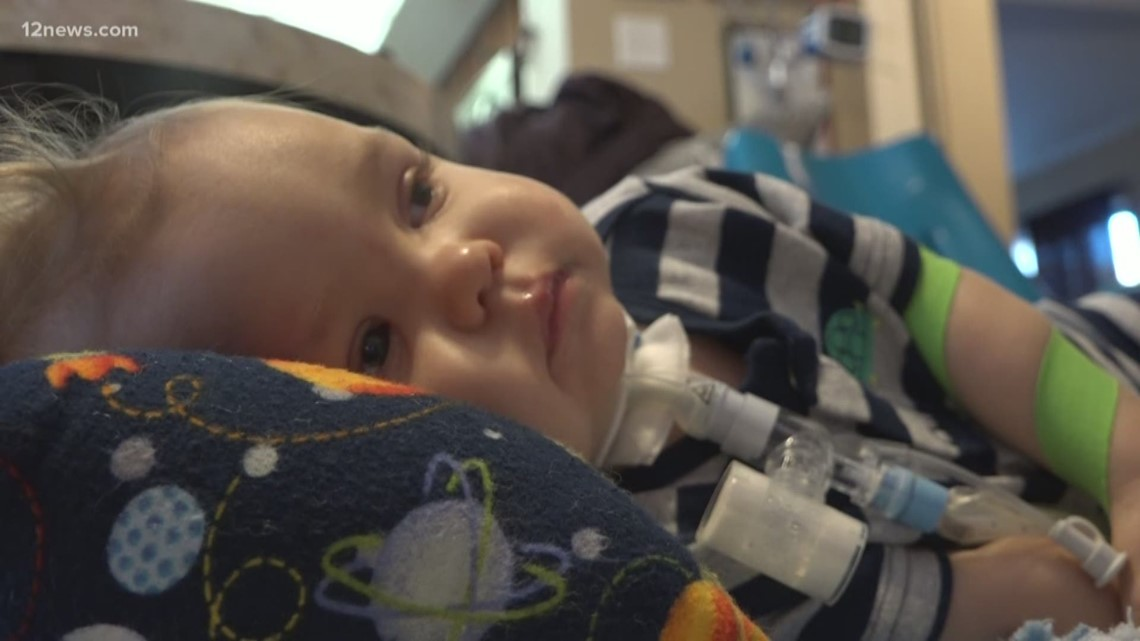 Tempe 1-year-old one of four kids in AZ diagnosed with AFM in 2018