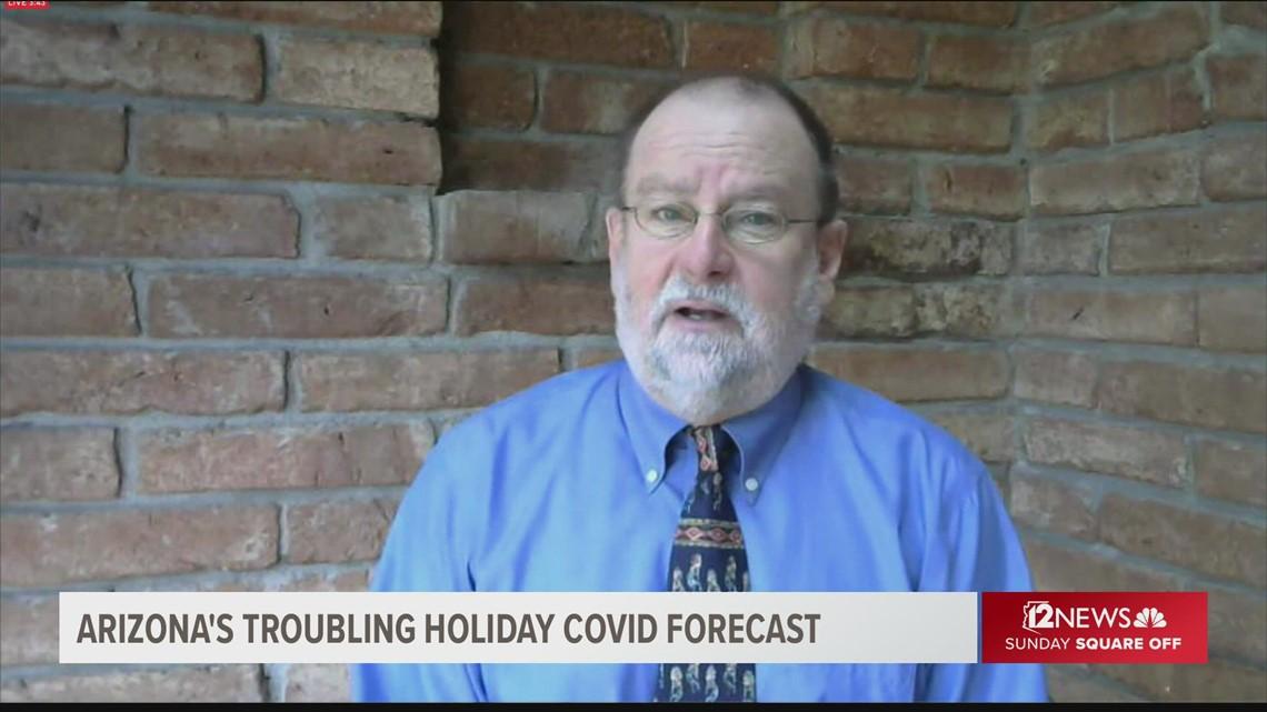 COVID forecast as we head into holidays