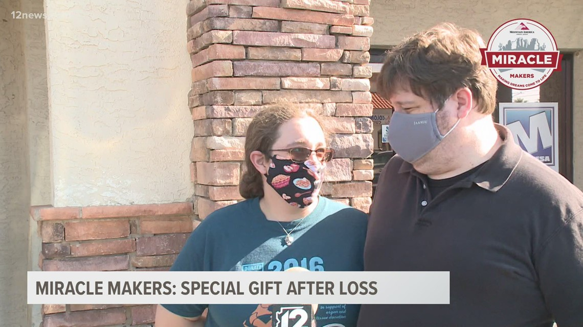 Miracle Makers: Valley couple who lost their infant get a surprise to make things a little easier