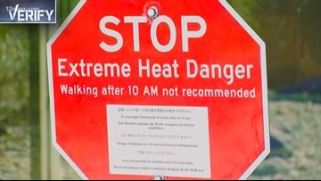 Verify: Is Arizona heat getting more dangerous?