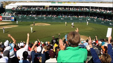 Need a ride to the Phoenix Open? Take a free shuttle from the Scottsdale Quarter.