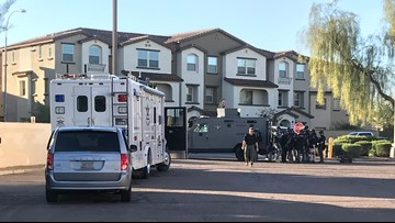Two in custody in connection with Chandler ADOT shooting Thursday
