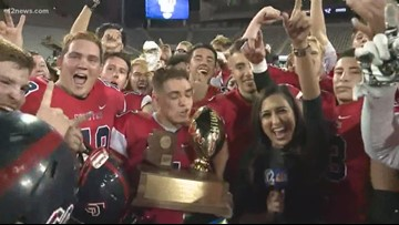 Centennial going back to the 5A High School Championship for back to back titles
