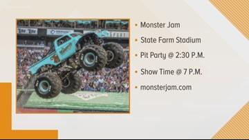 Monster Jam at the State Farm Stadium