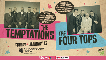 TODAY IN AZ TEMPTATIONS & FOUR TOPS SWEEPSTAKES