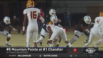 Chandler defeats Mountain Pointe in 49-21 win