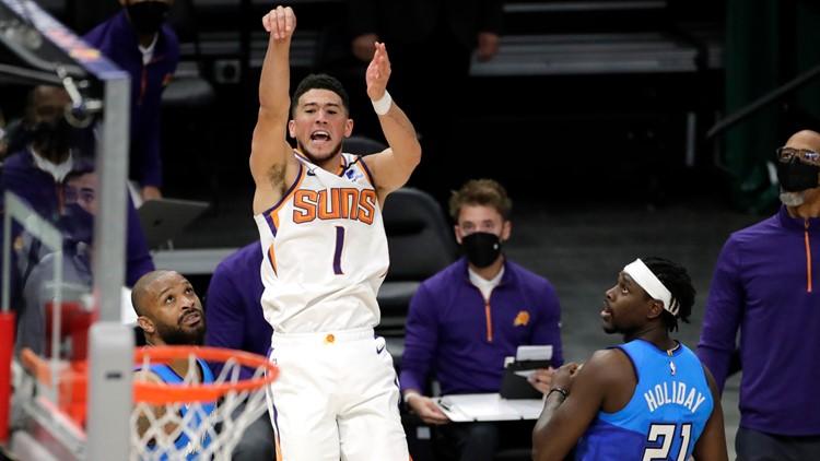 Suns edge Bucks 128-127 in overtime thriller