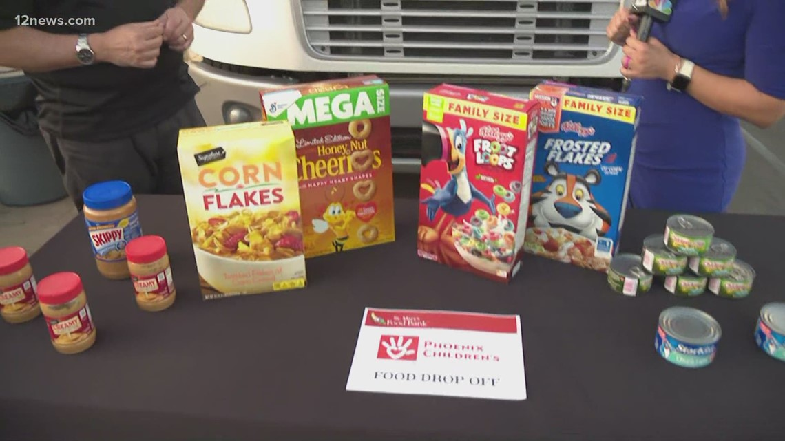 St. Mary's Food Bank and PCH partner for summer food drive