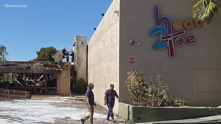 Building fire is another blow to embattled Head 2 Toe therapy clinic in Phoenix