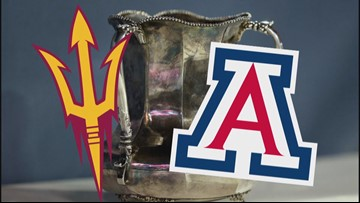 Territorial Cup: Arizona State at Arizona