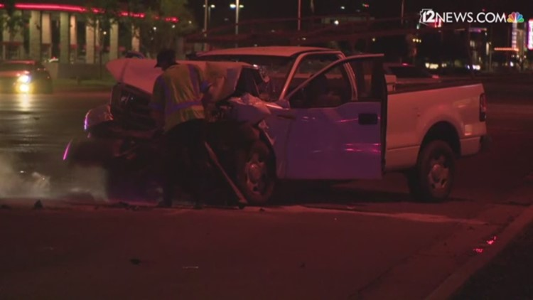 Driver seriously injured at crash near Baseline and Rural roads