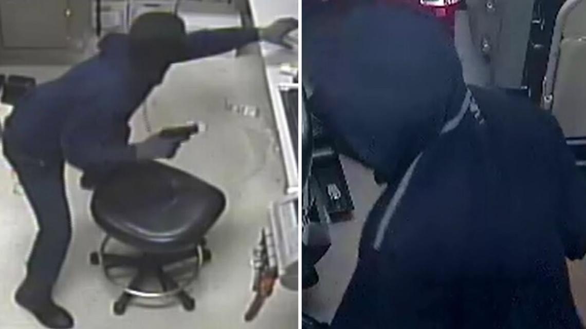 Phoenix police investigating 2 armed robberies at grocery stores