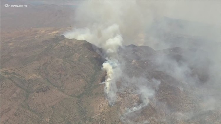 Firefighters working to slow Woodbury Fire progression toward homes
