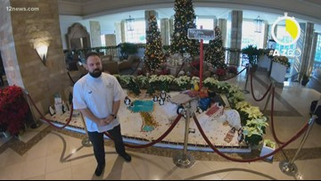 AtoZ60: JW Marriot Desert Ridge takes the gingerbread house to a whole new level