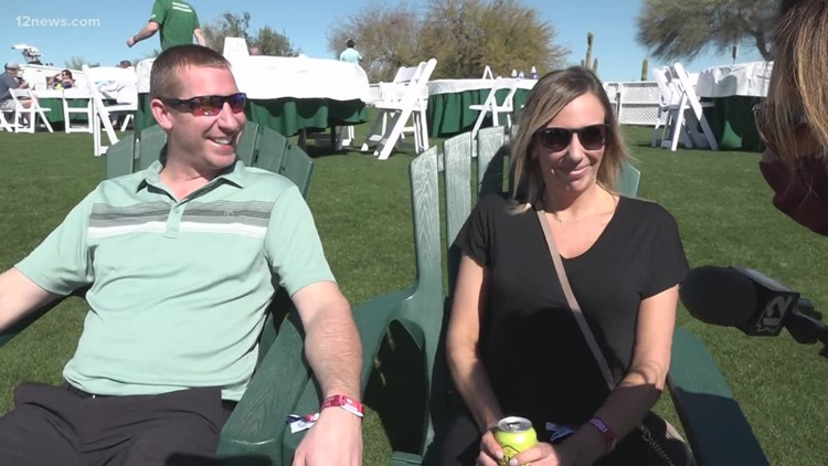Waste Management Phoenix Open fans are enjoying themselves despite changes