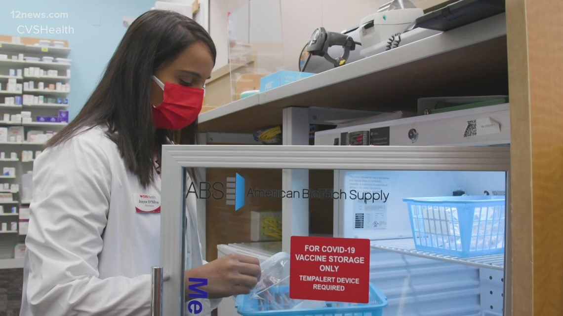 CVS to begin offering COVID-19 vaccines at some Arizona locations