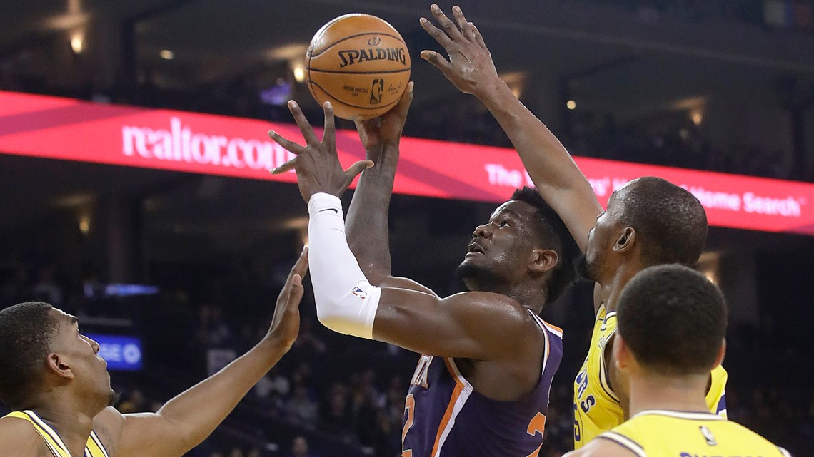 Suns' Deandre Ayton pledges $100K for hurricane relief in Bahamas