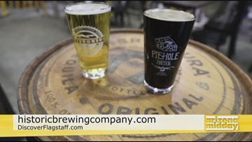 Flagstaff's Historic Brewing Company Beer