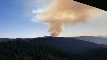 Some residents are being ordered to evacuate their homes as wildfire burns 8 miles south of Prescott