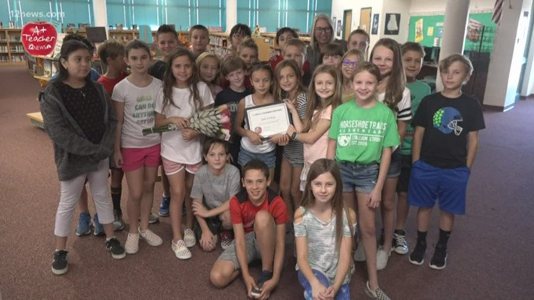 A+ Teacher of the Week: An amazing teacher from Horseshoe Trails Elementary
