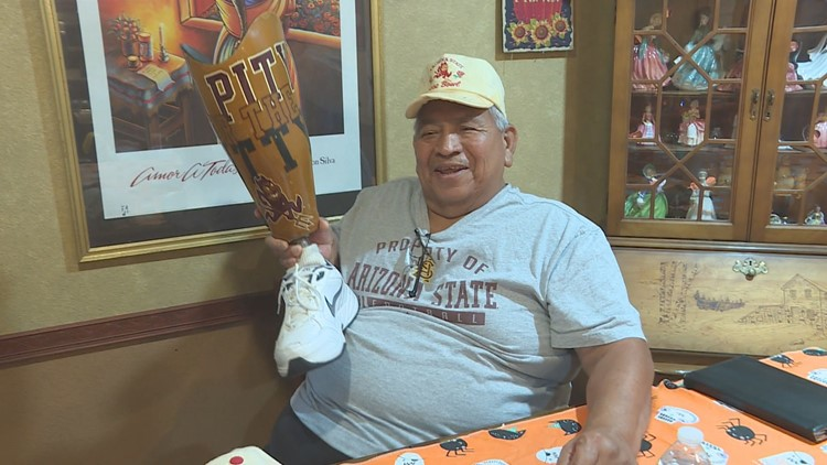 ASU fan's prosthetic leg goes viral & 12 News learned the story behind it