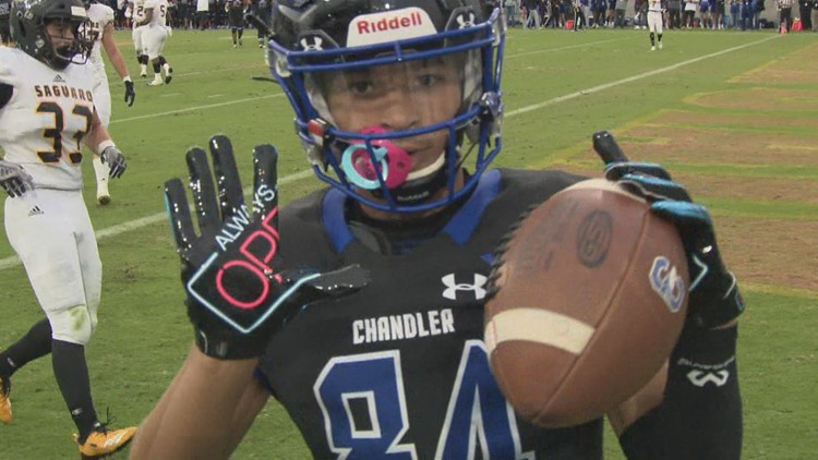 Chandler wins first ever Open Division state title game over Saguaro