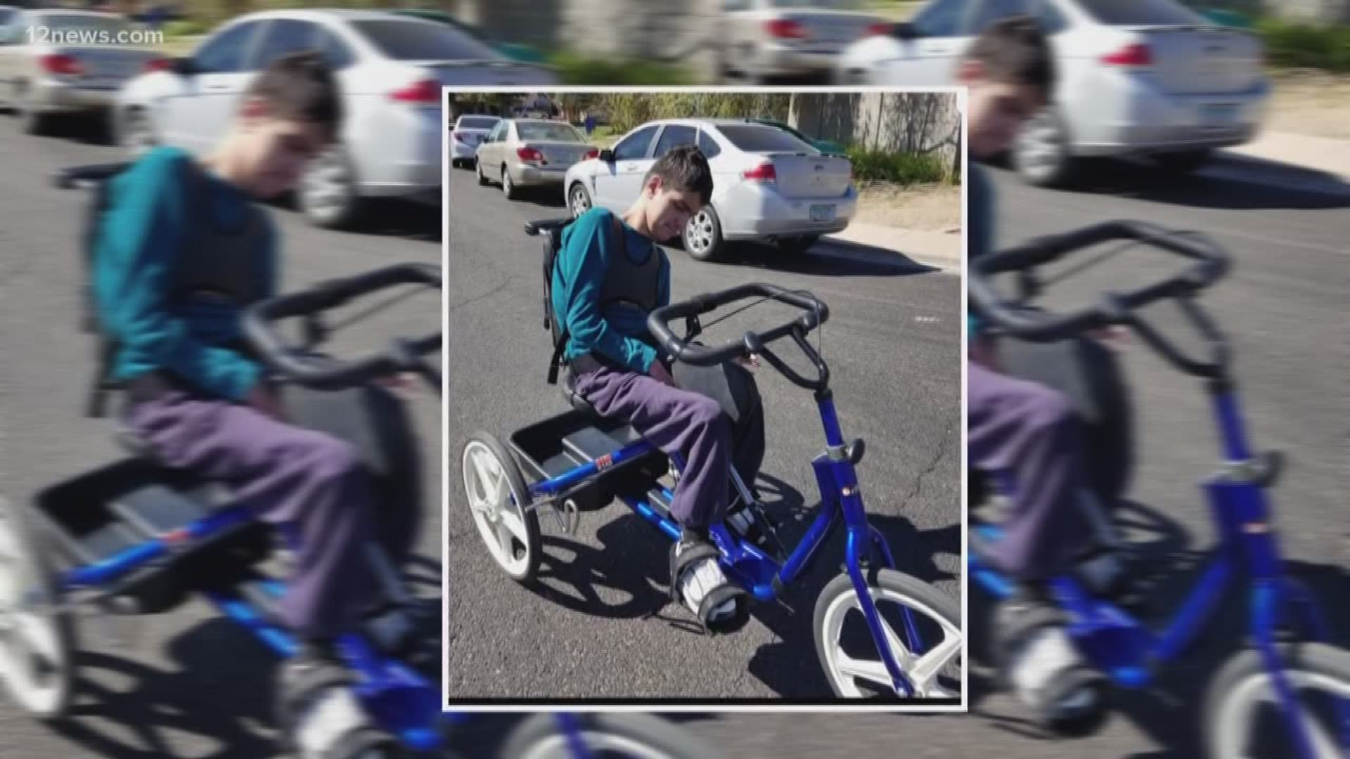 Adapted Bike For Teen With Special Needs Stolen From The Family S