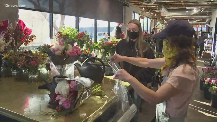 Local florists are slammed this Valentine's Day, but are grateful for the business