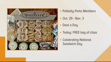 Money Saving Monday: Potbelly Perks, Dairy Queen & Brugger's Bagels
