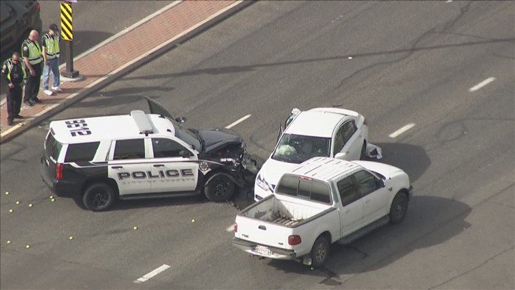3 hurt in crash involving Buckeye police officer | 12news com