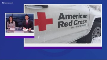 Three Red Cross shelters open in Northern Arizona