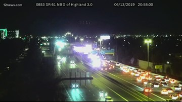 5 hurt in rollover crash on SR 51