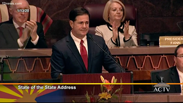 Recap: Gov. Doug Ducey's 2020 'State of the State' speech