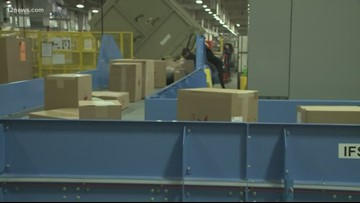 Behind the scenes of a Valley USPS processing center