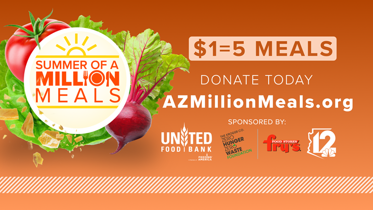 Summer of a Million Meals | Our goal is simple: A million meals for those in need