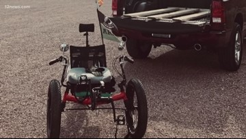 Valley vet's specialized trike stolen, how you can help