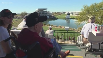 Patriot Outpost serves as HQ for veterans at Waste Management Phoenix Open