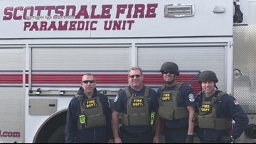 Scottsdale Fire celebrates 45 years of service for retiring captain