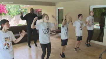 'Operation Tone Up' brings PE to kids while at home