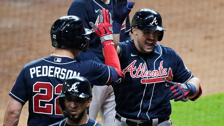 The Latest: Braves take 1-0 Series advantage over Astros