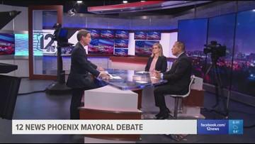 Phoenix mayoral debate: Why are public safety unions backing Valenzuela?