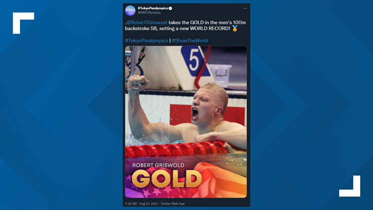 Robert Griswold helps Team USA brings home another gold and sets world record in 100m Backstroke