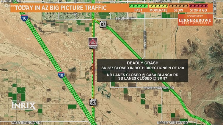 Pedestrian dead after being hit by cement truck on State Route 587